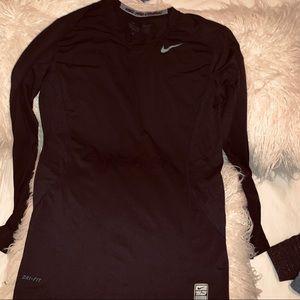 Black compression nike shirt
